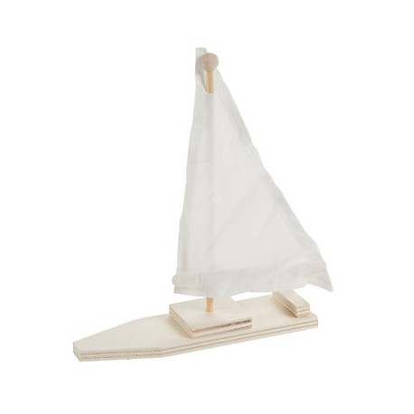 DIY Wooden Sail Boat Craft Kit