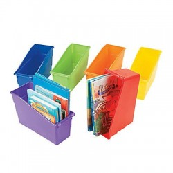 Classroom Organizer Book Storage - 6 Set