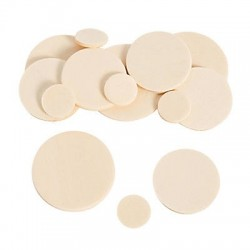 DIY Wooden Circles Unfinished - 250pk