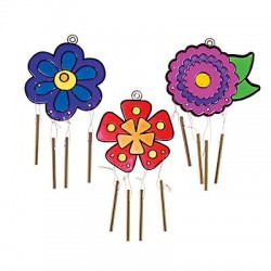 Flower Suncatcher Windchimes