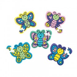 Colour Your Own Butterfly Puzzles -50pack