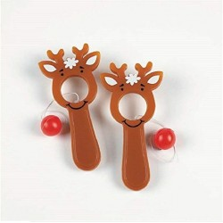 Reindeer Bulls-Eye Game - 50 Pack