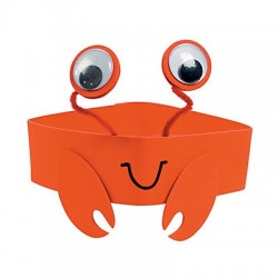 Crab Headband Craft Kit