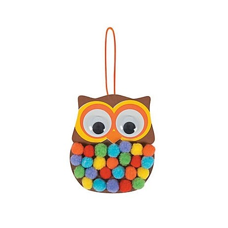 Pom-Pom Owl Craft Kit