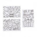 Color Your Own Christmas Canvas