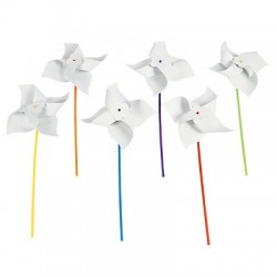 Mini Paper Windmills -24 pack