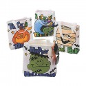 Colour Your Halloween Tote Bag - 12 pack