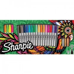 Sharpie Permanent Marker 23pack