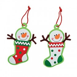 Snowman Christmas Stocking 50 Pack