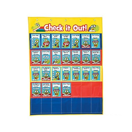 Book Checkout Pocket Chart