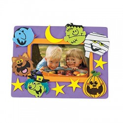 Halloween  Picture Frame Craft Kit - 50 pack