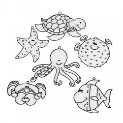 Under the Sea Suncatchers -12pk
