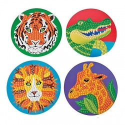 Jumbo Safari Mosaic Kit -4pack