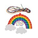 Lacing Rainbow Craft Kit