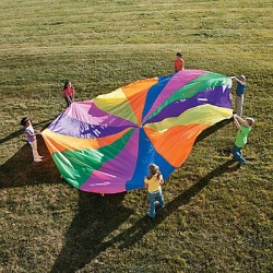 20ft Rainbow Parachute
