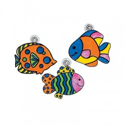Sun Catcher Fish - 12 pack