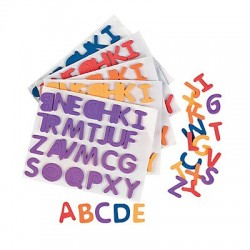 Adhesive Foam Alphabet - 1040 pack