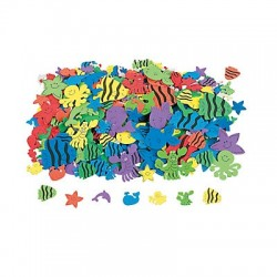 Under Water Adhesive Foam Shapes 250 pack