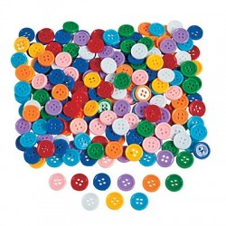 Fabulous Adhesive Buttons ~ 400 pack