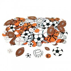 Sport Ball Adhesive Shapes