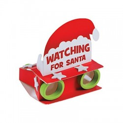 Watching for Santa Binocular Craft Kit