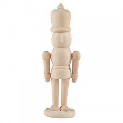 DIY Wooden Nutcracker Figurine