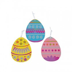 Magic Scratch Giant Easter Egg -12 pack