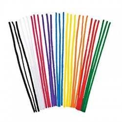 Pipe Cleaner Colours pack -100 pack