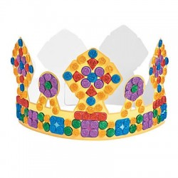 Glitter Mosaic Crown