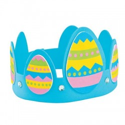 Easter Egg Crown Craft Kit - 12 pack