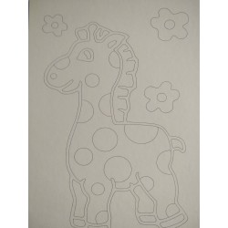 Sand Art Kit ~ Giraffe