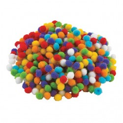Teeny Tiny Pom Poms -500pack
