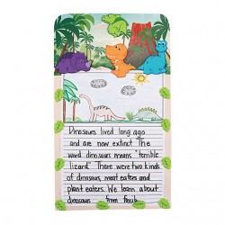 Dinosaur Story Writing Craft Kits - 12 pack
