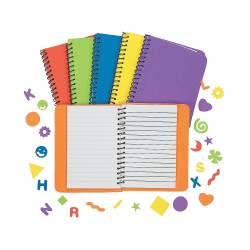 Make your own Notebook 12 pack