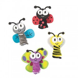 DIY Bug Critter Finger Puppets - 12 pack