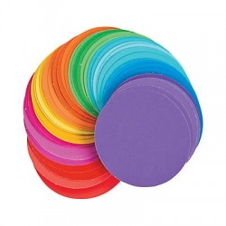 Paper Paint Chip Circles -1200pcs