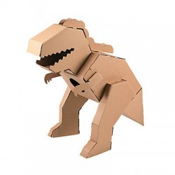 DIY 3D T-Rex Dino Stand Up