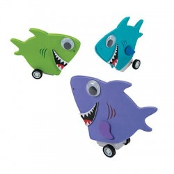 Shark Racer Toy Craft Kit