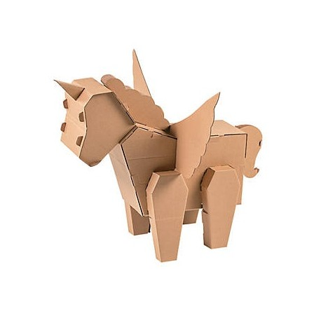 Jumbo DIY 3D Unicorn Stand Up