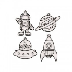 Outer Space Suncatchers- 12pack