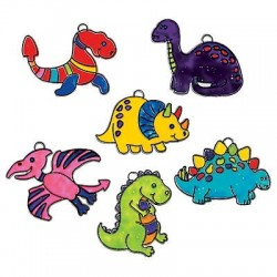 Dinosaur Suncatchers- 12pack