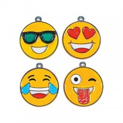 Emoji Face Suncatchers - 12pack