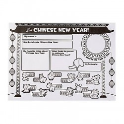 "Colour Your Own ""All About Chinese New Year"" Posters -30pack"