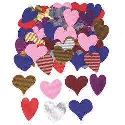 Corrugated Hearts - 100pk