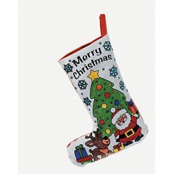 Colour Your Own Christmas Stocking