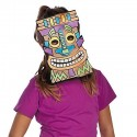 Colour Your Own Tiki Masks - 12pack