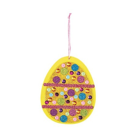 Glitter Easter Egg Craft Kit