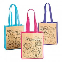 Colour Your Own Medium Easter Tote Bag