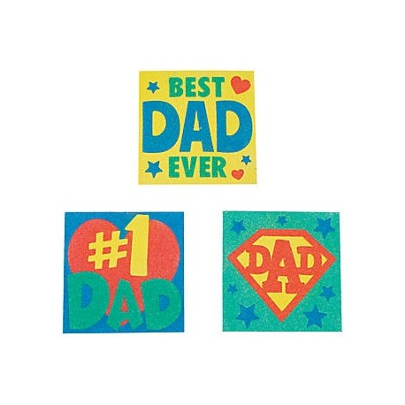 Father's Day Sand Art Sets - 12 pack