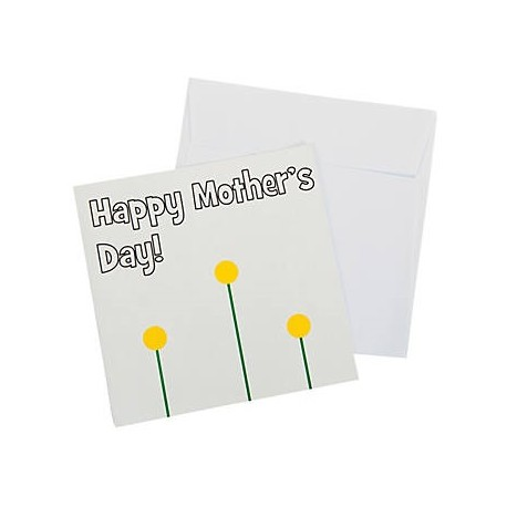 Mothers Day Thumbprint Card - 12 pack
